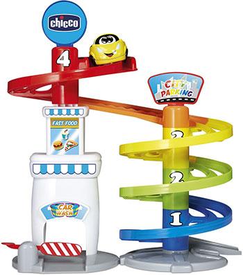 Автопарковка игрушечная Chicco Многоярусная парковка с 12 мес. 00010001000000