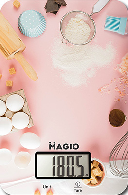 Кухонные весы MAGIO MG-799 розовый кухонные весы magio mg 797