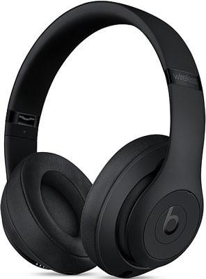 Фото - Мониторные наушники Beats Studio3 Wireless Over‑ Ear Headphones - Matte Black MX3X2EE/A наушники beats powerbeats high performance белый