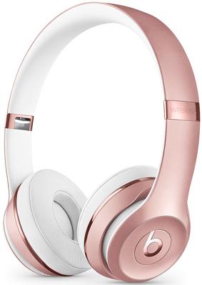 Беспроводные мониторные наушники Beats Solo3 Wireless Headphones - Rose Gold MX442EE/A фото