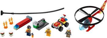 Конструктор Lego City Fire Пожарный спасательный вертолёт 60248 lego technic 42092 конструктор лего техник спасательный вертолёт