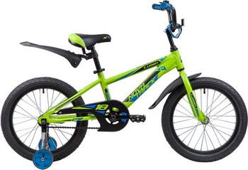 Велосипед Novatrack 18'' LUMEN алюм. зелёный 185ALUMEN.GN9
