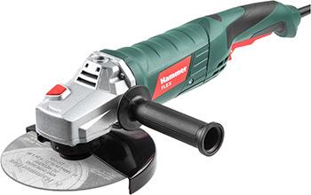 Угловая шлифовальная машина (болгарка) Hammer Flex USM1650D эксцентриковая шлифовальная машина metabo sxe3125 [600443000] 310вт 125мм 3мм эл ка картон 12000 об мин вес 1 5 кг
