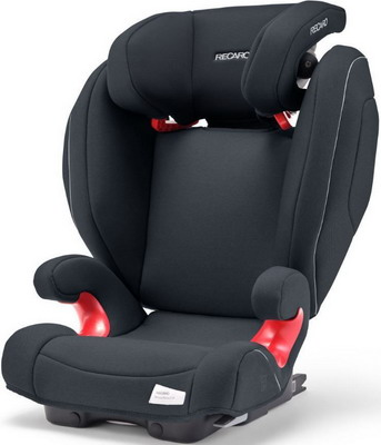 Автокресло Recaro Monza Nova 2 Seatfix гр. 2/3 расцветка Prime Mat Black автокресло recaro monza nova evo seatfix гр 2 3 расцветка racing red