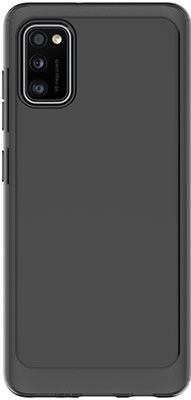 Чехол (клип-кейс) Samsung Galaxy A41 araree A cover черный (GP-FPA415KDABR)