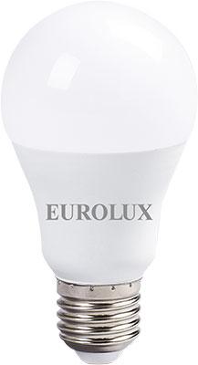 Фото - Лампа Eurolux LL-E-A60-13W-230-4K-E27 (груша 13Вт нейтр. Е27) белый (10 шт) лампочка ресанта груша ll r a60 13w 230 3k e27 76 1 17