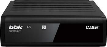 Цифровой телевизионный ресивер BBK SMP025HDT2