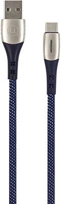 Фото - Кабель Usams SJ305 USB - Type-C Smart Power-off синий (SJ305USB03) кабель usams u16 led usb type c черный sj287usb03
