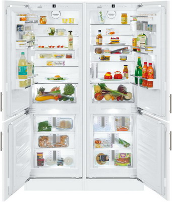 Встраиваемый холодильник Side by Side Liebherr SBS 66 I2-22 liebherr sbs 66 i3