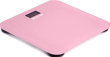 все цены на Весы напольные Kitfort КТ-804-2 розовые онлайн
