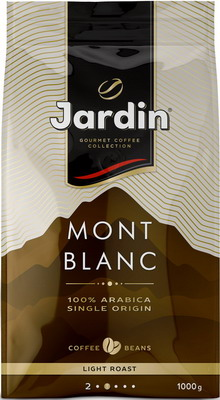 купить Кофе зерновой Jardin Mont Blanc 1кг дешево