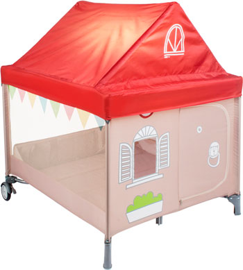 Игровой манеж Happy Baby ''ALEX HOME'' с лампой 4690624021695