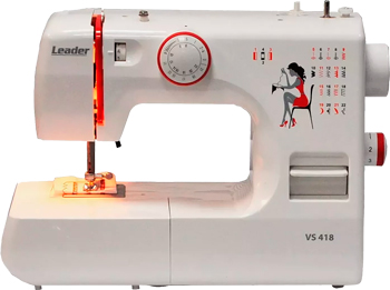 Швейная машина Leader VS 418 4640005570342 швейная машина leader vs 318 4640005570144