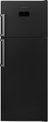 лучшая цена Двухкамерный холодильник Scandilux TMN 478 EZ D/X Dark Inox