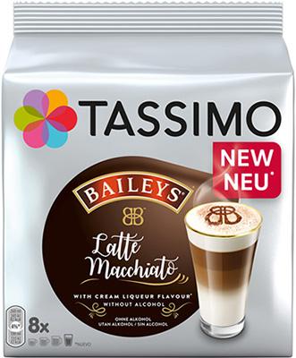 Кофе капсульный Tassimo Латте Макиато Бейлиз кофе капсульный tassimo латте макиато бейлиз