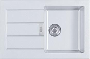 Кухонная мойка FRANKE SID 611-78 белая 114.0443.346 цена в Москве и Питере