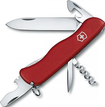 Нож перочинный Victorinox Picknicker 111 мм 11 функций с фиксатором лезвия красный складной нож victorinox picknicker 11 функций 111мм зеленый