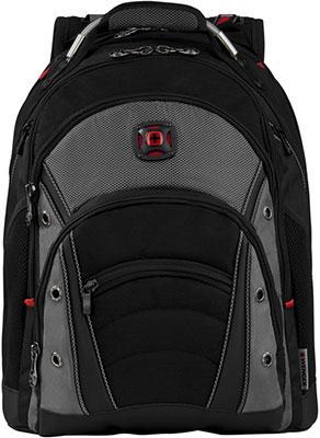 Рюкзак Wenger 16'' черный/серый полиэстер/ПВХ 36 x 26 x 46 см 26 л 600635 рюкзак городской wenger 26 л серый серебристый 34х16х48см