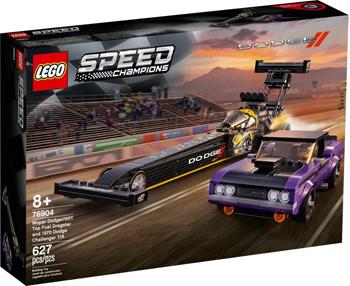 Фото - Конструктор Lego Speed Champions ''Mopar Dodge SRT Dragster and 1970 Dodge Challenger T/A'' lego lego speed champions mopar dodge srt dragster and 1970 dodge challenger t a