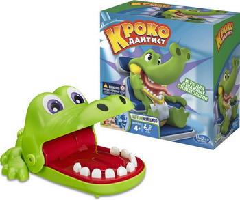 Настольная игра Hasbro Крокодильчик Дантист В0408 настольная игра hasbro моя первая монополия