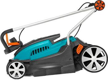 Ручная газонокосилка Gardena PowerMax 1400/34 (05034-20.000.00) газонокосилка роторная gardena powermax 1400 34