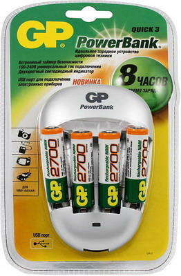 Зарядное устройство GP PB 27 GS 270 270 270 2700 page 5
