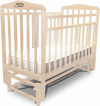 Детская кроватка Sweet Baby Flavio Nuvola Bianca (Белое облако) 382 003 детская кроватка sweet baby mario nuvola bianca белое облако