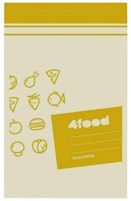 Пакеты для продуктов Tescoma 4FOOD 12 x 19см 20шт 897020 контейнер tescoma 4food 1 0 л 896950
