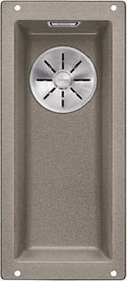 Кухонная мойка Blanco SUBLINE 160-U SILGRANIT серый беж c отв.арм. InFino 523403