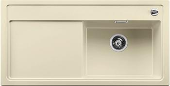 Кухонная мойка BLANCO 523891 ZENAR XL 6S-F чаша справа SILGRANIT жасмин с кл.-авт. InFino кухонная мойка blanco zenar xl 6s чаша справа silgranit шампань с кл авт infino 523950
