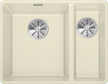 Кухонная мойка BLANCO SUBLINE 340/160-F жасмин с отв.арм. InFino 523572 blanco subline 340 160 u левосторонняя жасмин