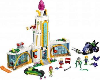 Конструктор Lego SUPER HERO GIRLS Школа супергероев 41232 lego super hero girls 41238 конструктор лего супергёрлз фабрика криптомитов лены лютор