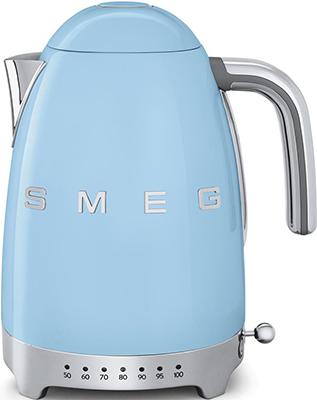 Чайник электрический Smeg KLF 04 PBEU пастельный голубой smeg smf 01 pbeu голубой