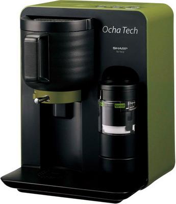 Чайная машина Sharp Ocha Tech TE-T 01 ZGR зеленый