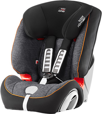 Автокресло Britax Roemer Evolva 123 Plus Black Marble Highline 200002287 автокресло britax romer evolva 1 2 3 plus cosmos black
