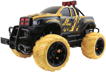 Джип Пламенный мотор черн.-желт. 870318 машинка пламенный мотор цвет красный