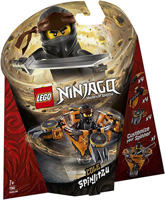 Конструктор Lego Коул: мастер Кружитцу 70662 Ninjago Masters of Spinjitzu цены