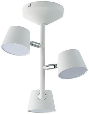 купить Люстра потолочная DeMarkt Хартвиг 717010903 75*0 2W LED 220 V по цене 8470 рублей