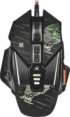 Проводная игровая мышь Defender sTarx GM-390 L 52390