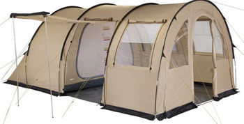 Палатка кемпинговая TREK PLANET Vario 5 песочный 70248 палатка trek planet moment 2