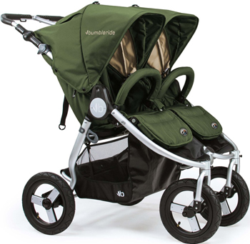 Коляска Bumbleride Indie Twin Camp Green IT-975 CG