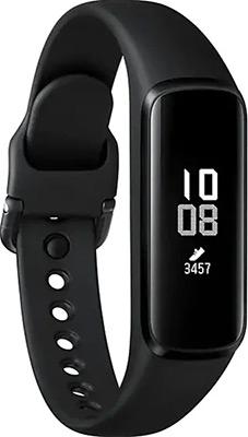 цена Браслет Samsung Galaxy Fit E M-R375N черный онлайн в 2017 году