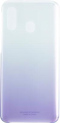Чехол (клип-кейс) Samsung A 40 (A 405) GradationCover violet EF-AA 405 CVEGRU цена и фото