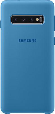 Чехол (клип-кейс) Samsung S 10 (G 973) SiliconeCover blue EF-PG 973 TLEGRU чехол клип кейс samsung s 10 g 975 siliconecover pink ef pg 975 thegru