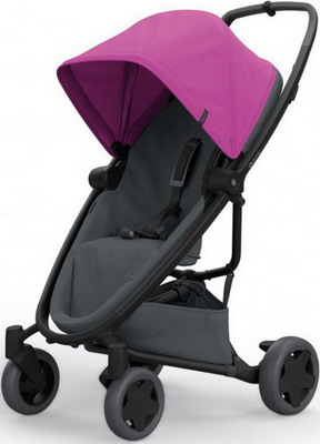 Коляска Quinny Zapp Flex Plus pink on graphite 1398381000 коляска прогулочная quinny yezz blue трек 76505130
