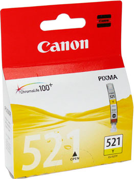 Картридж Canon СLI-521 Y 2936 B 004 Жёлтый