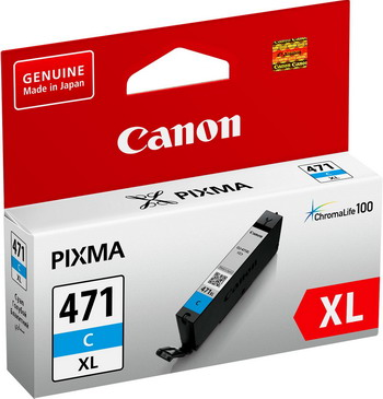 Фото - Картридж Canon CLI-471 XL C 0347 C 001 Голубой картридж canon cli 481pb xl 2048c001 для canon pixmats8140ts ts9140 голубой