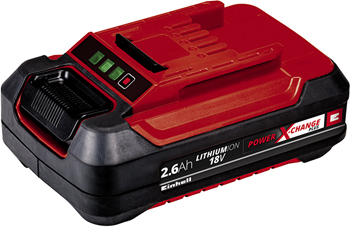 Аккумулятор Einhell PXC 18В 2.6 Ач Plus 4511436 аккумулятор einhell pxc 18v 4 6 ah pxc plus