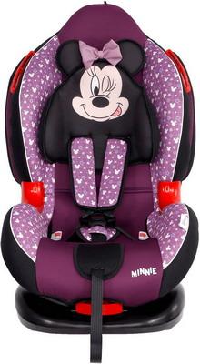Автокресло Siger серия Disney Кокон ISOFIX гр. I/II Минни Маус звезды фиолетовый KRES2663 цены
