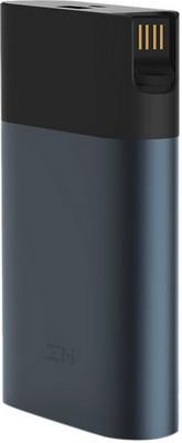 Внешний аккумулятор Xiaomi ZMI (MF885 Black) 10000mAh + 4G modem Quick Charge 2.0 ЧЕРНЫЙ внешний аккумулятор xiaomi mi zmi qb810 10000mah black